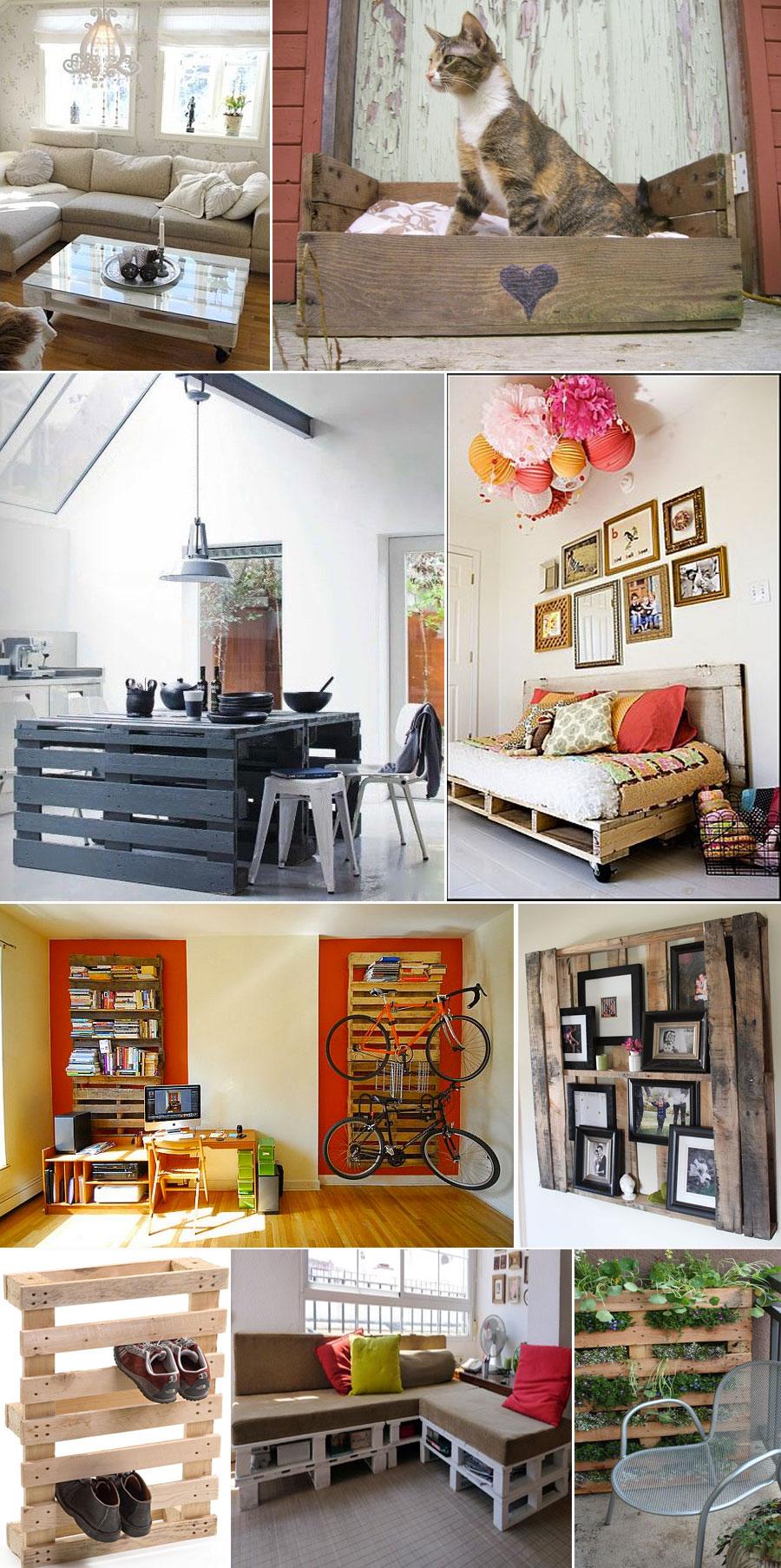 bygg möbler med en lastpall Hemmafixbloggen