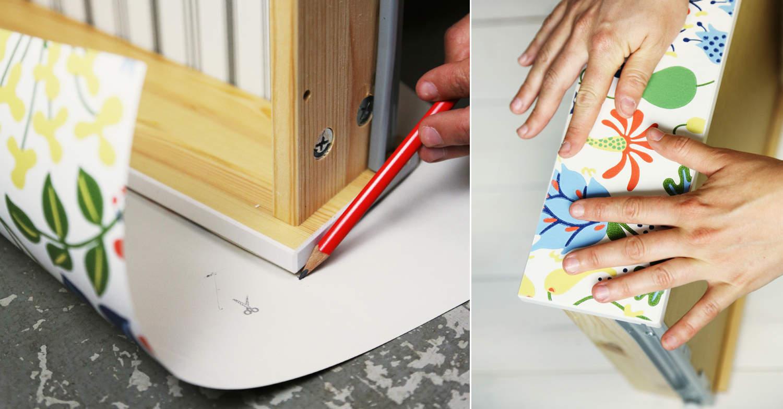Före & efter – Ikea Hemnes ByrÃ¥ med Stig Lindberg - Gör det själv ...