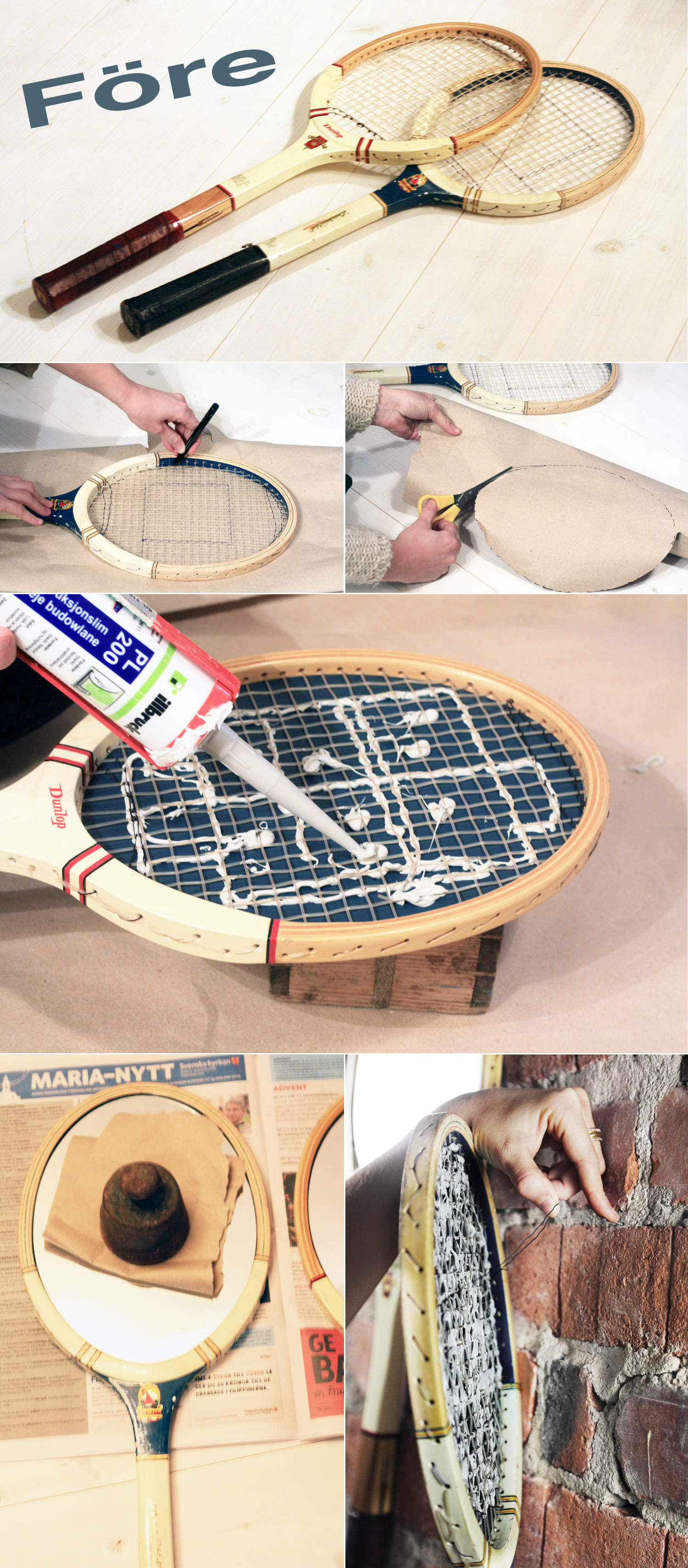 monica.karlstein.racket.racet.tennis-mirror-spegel-upcycling