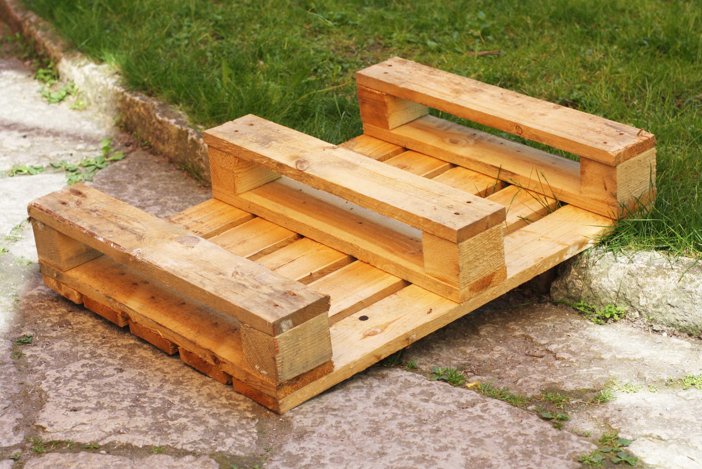 Hemmafix: lastpall goes barhylla... eller blomlådor till din ...