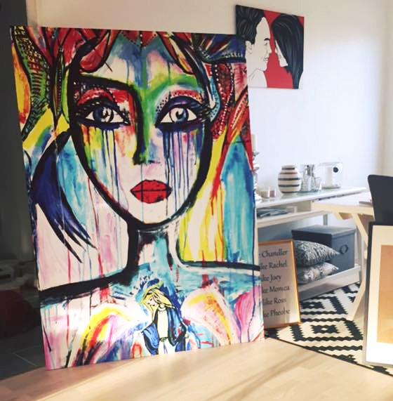 gynning litografi till salu