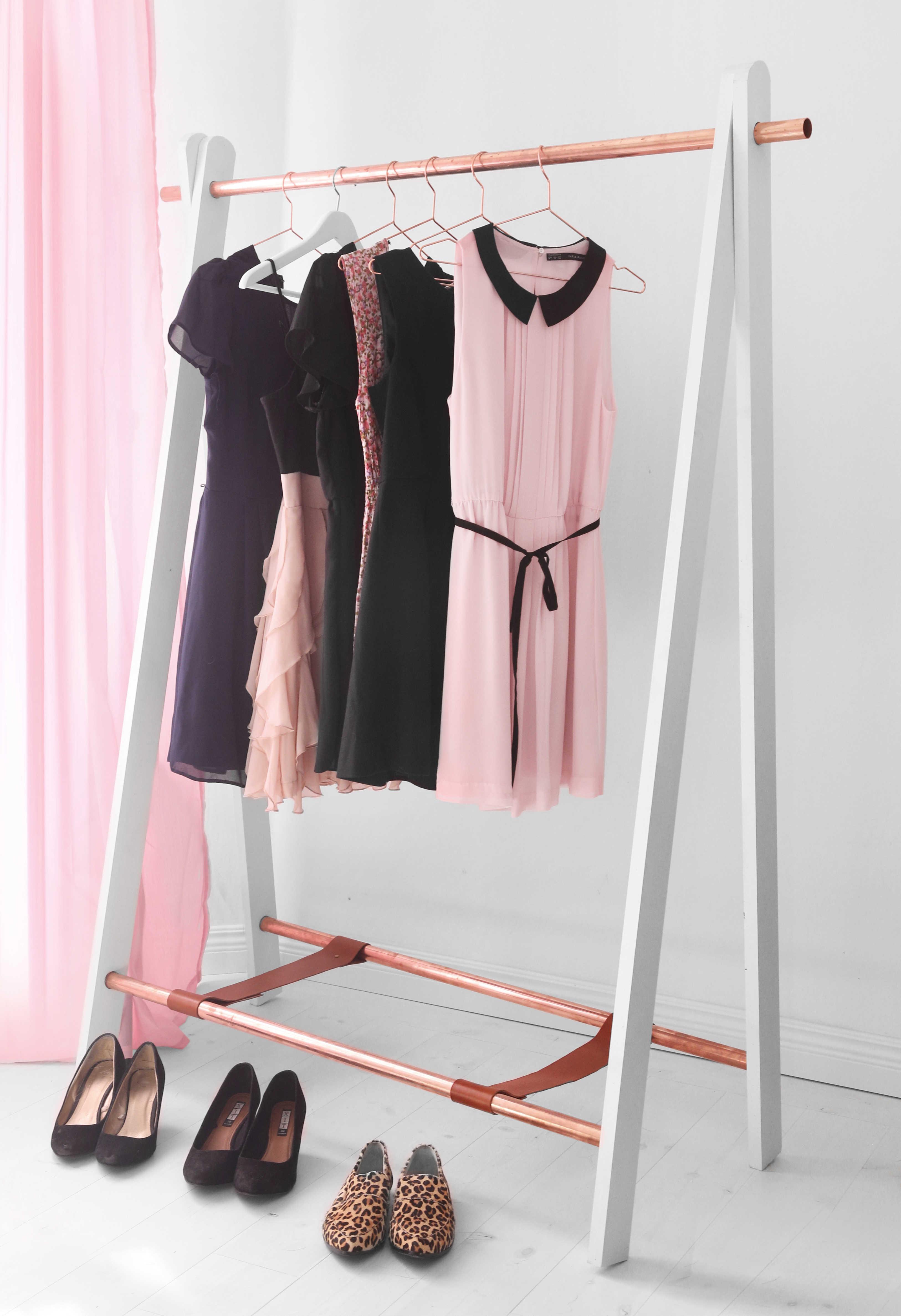 DIY Köpa klädställningen eller göra den själv? Gör det själv DIY, Helgfixet, Hemmafix, Pyssel