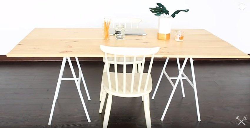 Bygga eget bord plankor
