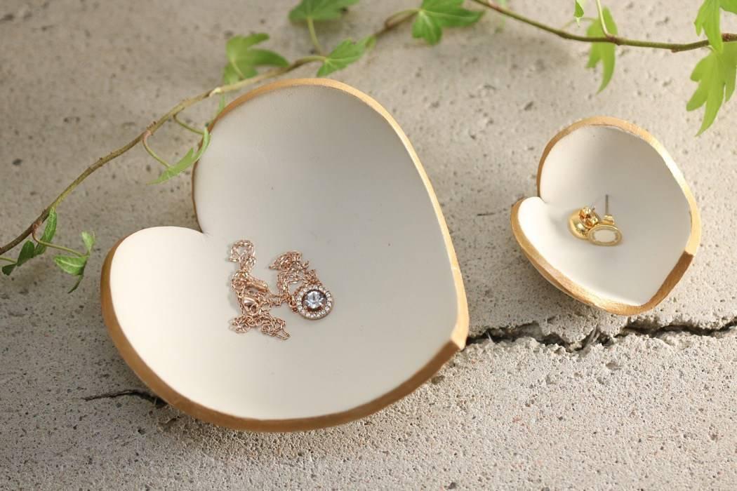 Hjärtformade skålar, alla hjärtans dag.