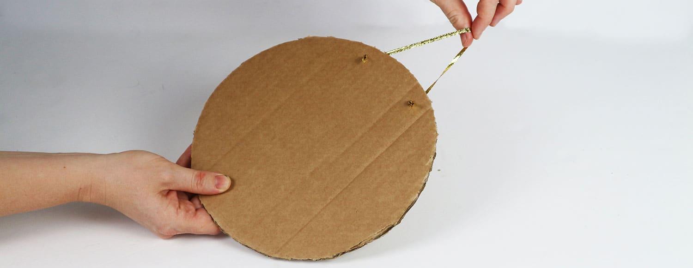 Dörrkrans av papper, av Monica Karlstein för Hemmafixbloggen.se.