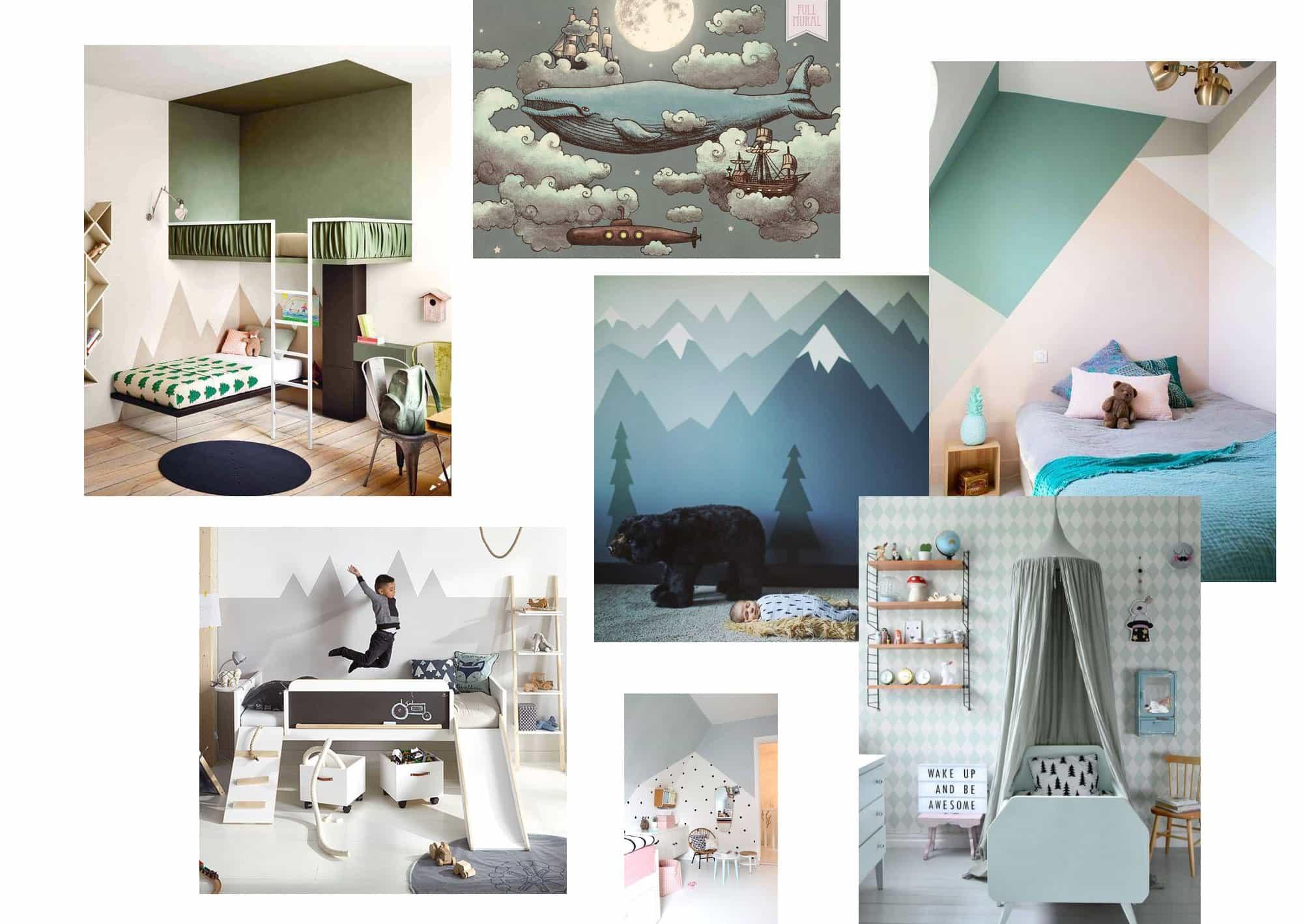 Lilla T:s barnrum i nya huset – första idéerna