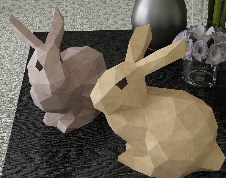 Påskpyssel av papper för barn och vuxna.