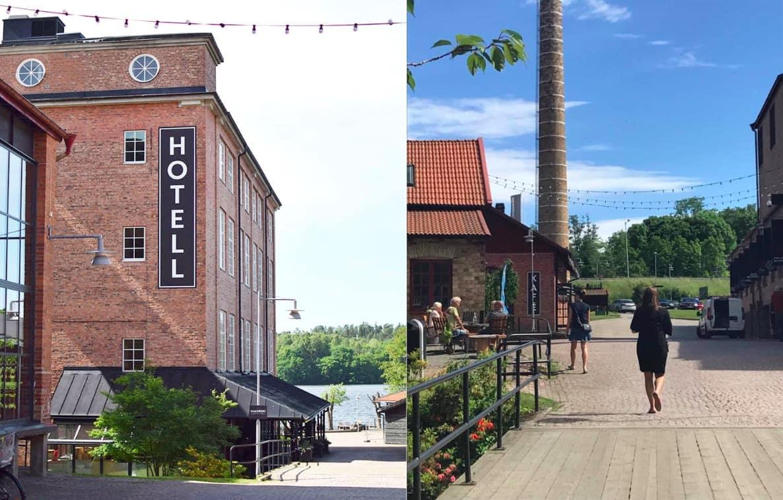 Nääs fabriker, utanför Göteborg.