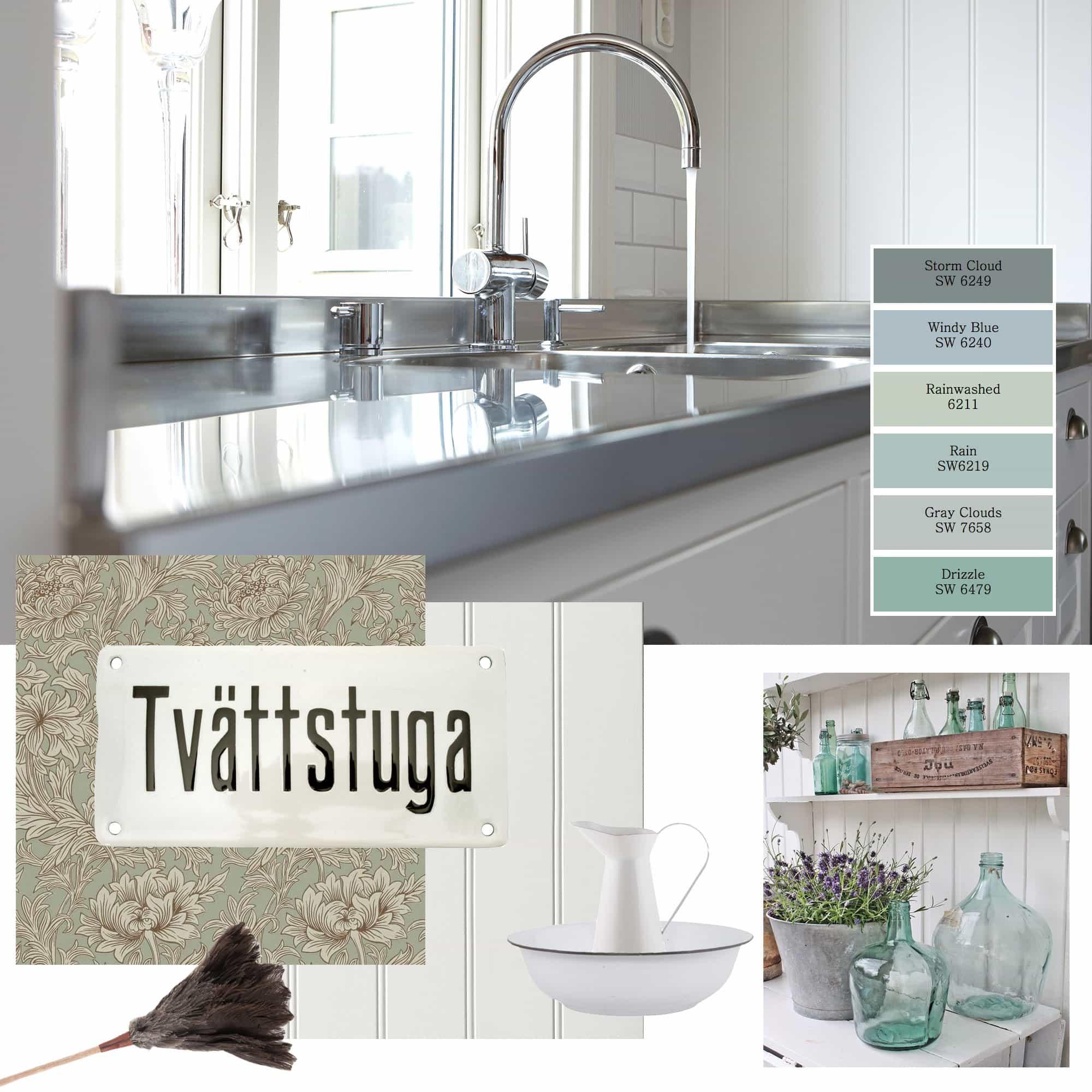 Planer och inspiration till renovering av tvättstugan