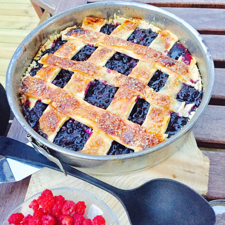 Recept: Blåbärspaj med ingefära– sommarens godaste bakverk och dessert