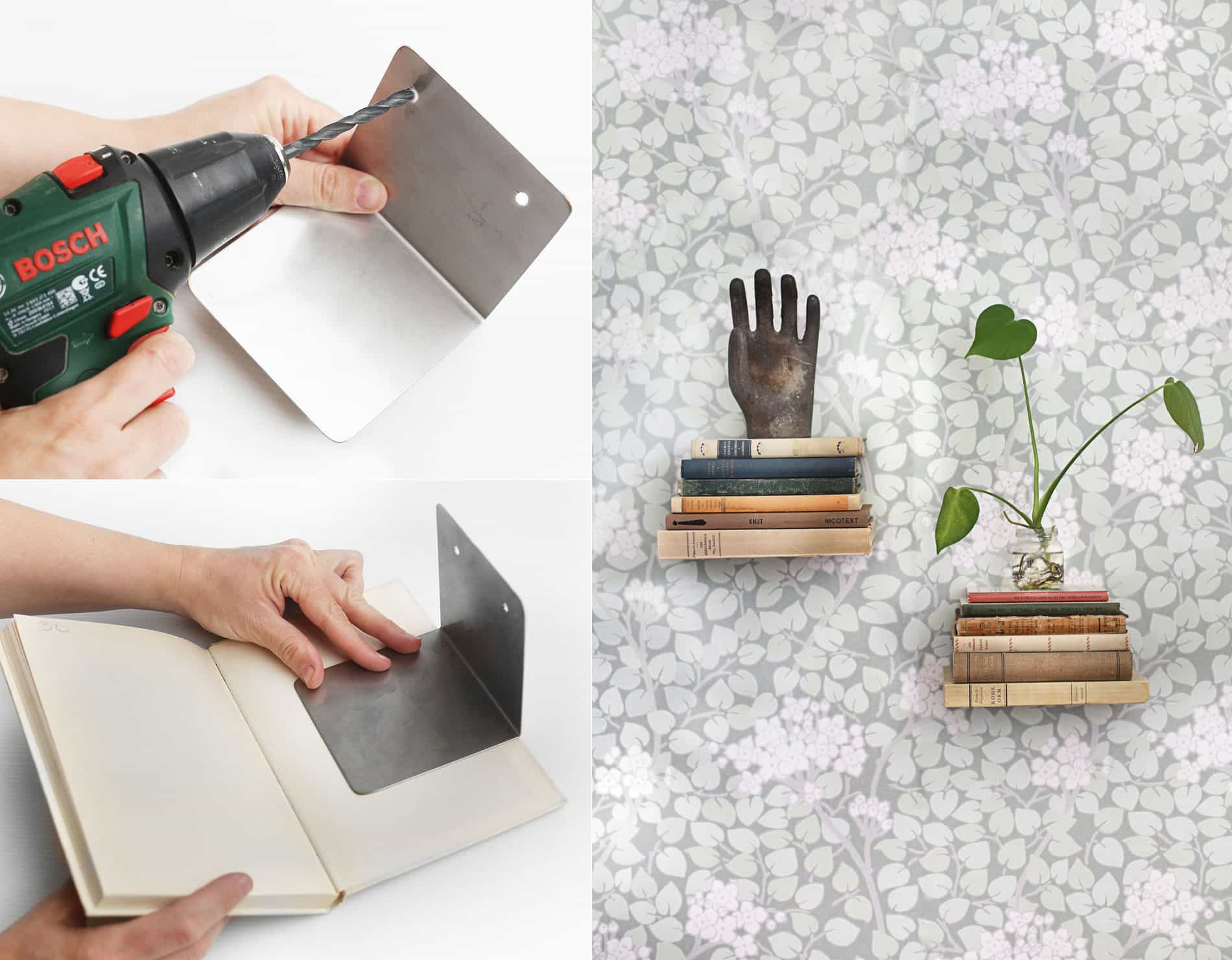 invisible book shelf sà gà r du hemmafixbloggen
