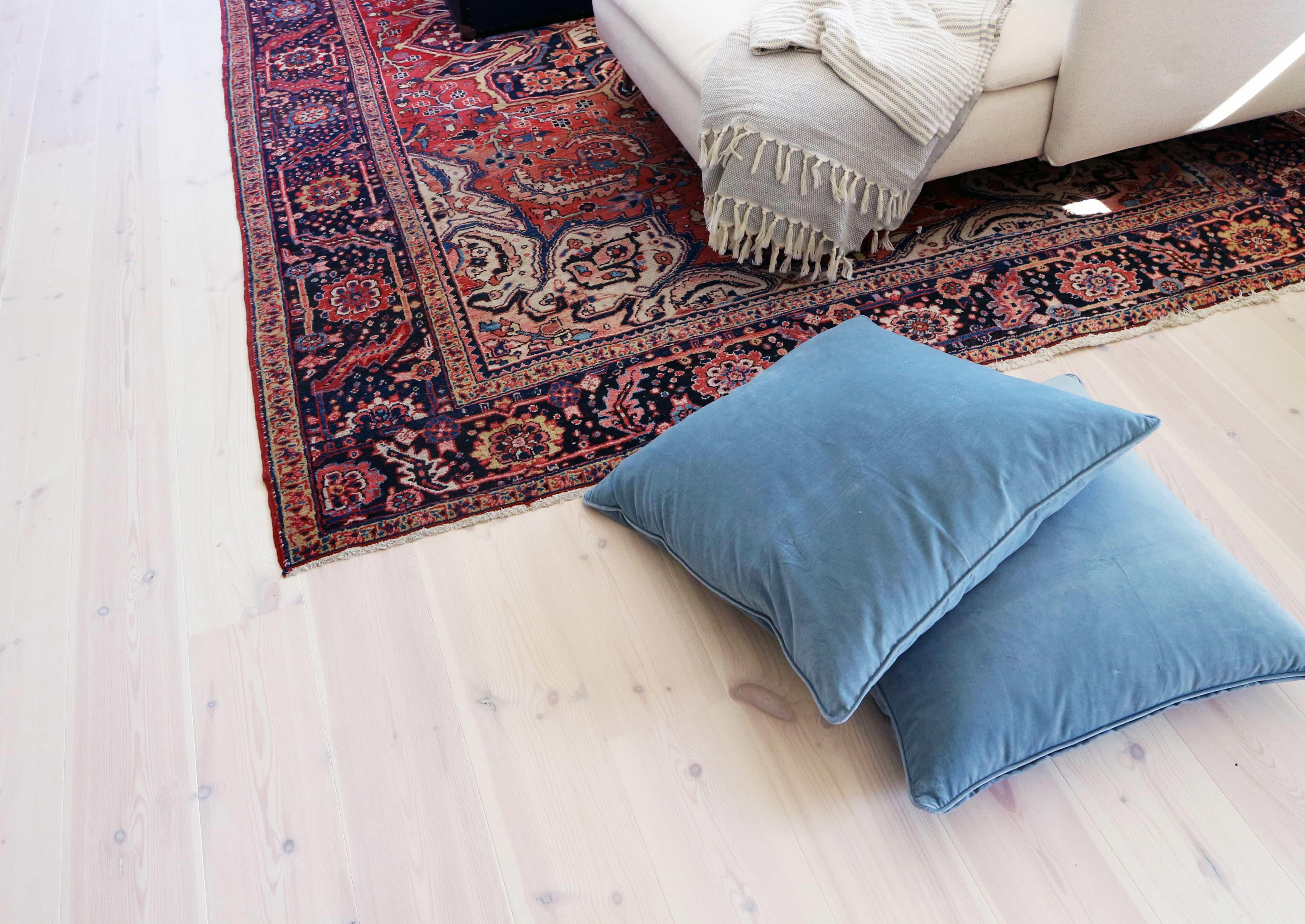 Jakten på den perfekta mattan till vardagsrummet fortsätter…