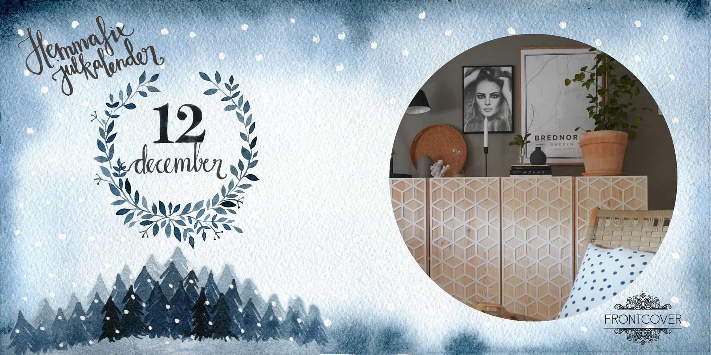 12 december: Vinn 1 500:- i presentkort från Frontcover