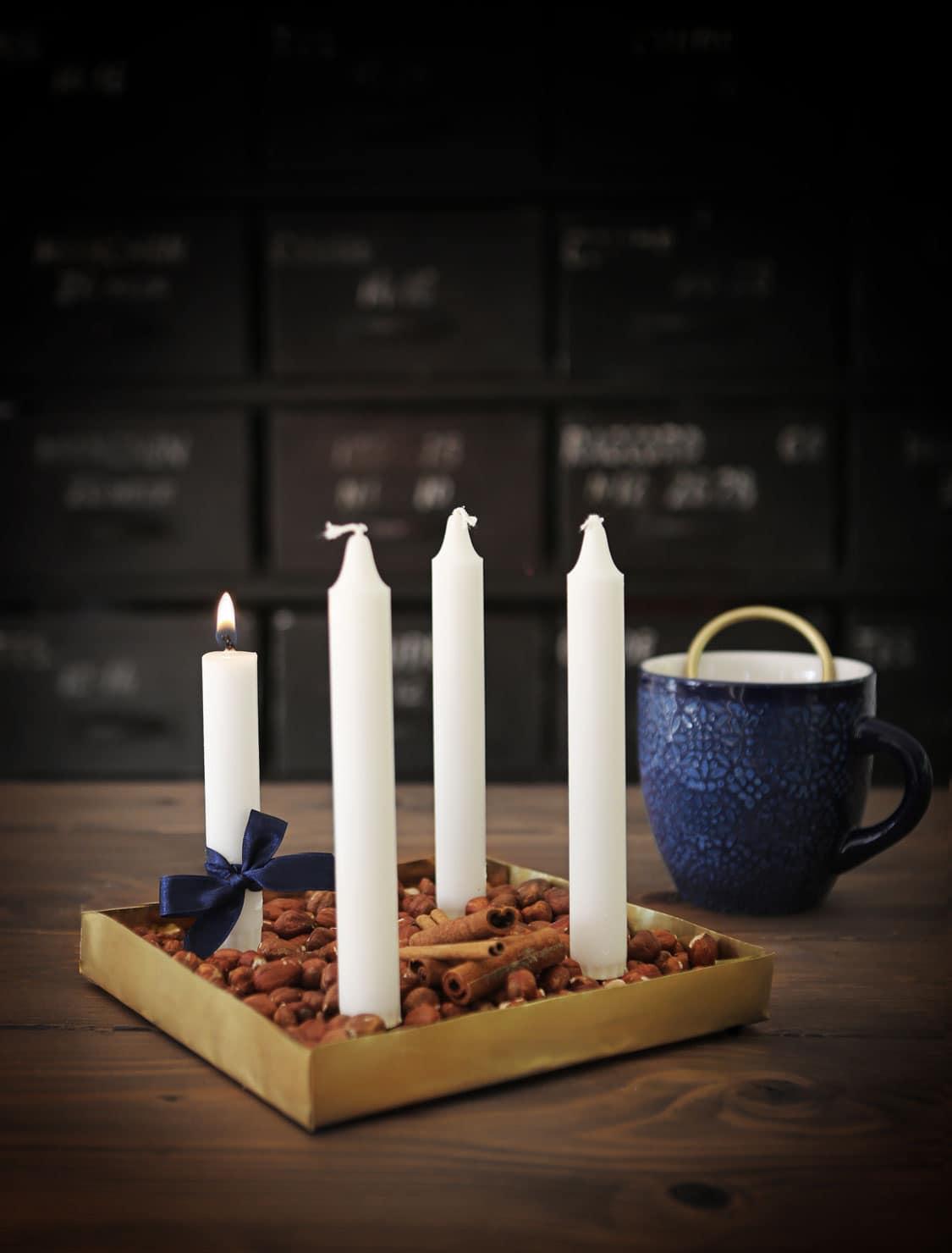 DIY: Gör din egen adventsljusstake av mässingsplåt - Helgfixet ...