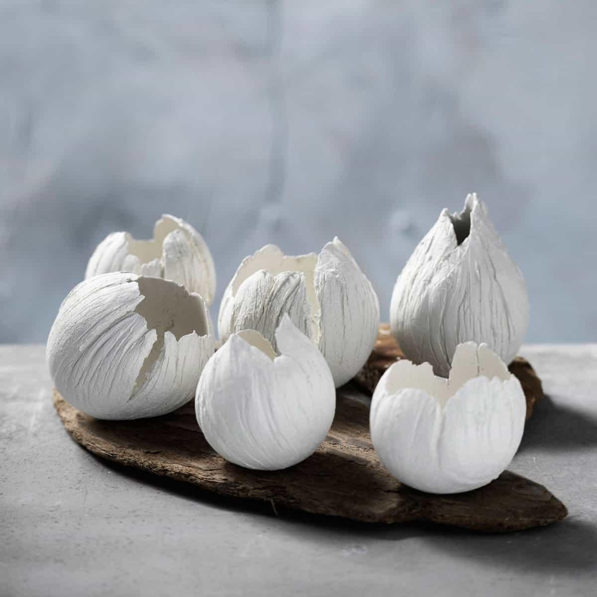 DIY: Ballongskålar av lera – perfekta godisskålar i påsk