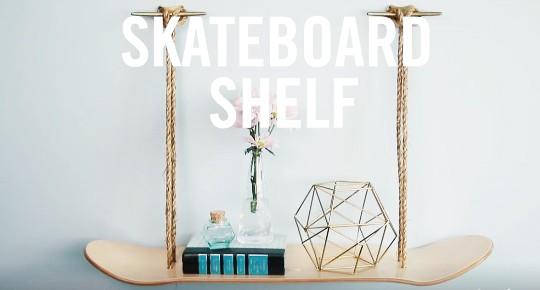 skateboard shelf hylla hemmafix