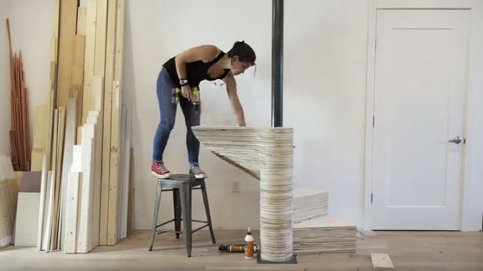 Bygg din egen spiraltrappa – ett supersnyggt hemmafix.