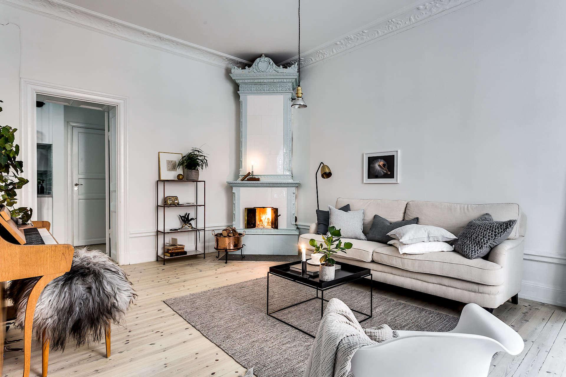 Lägenhet på Hemnet, Hökens gata, Stockholm, Svenska Mäklarhuset.