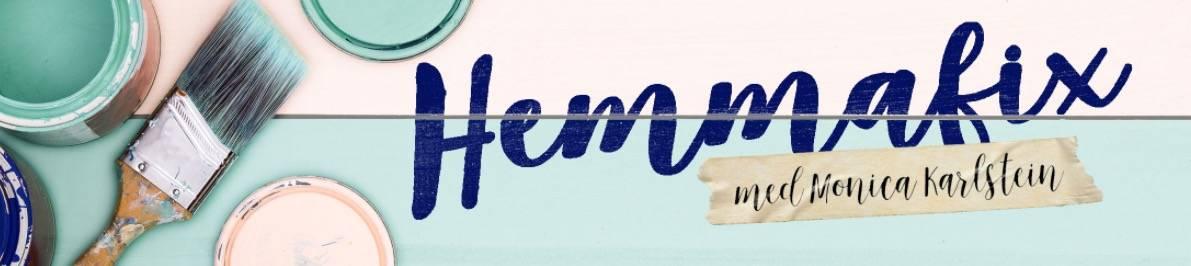 Hemmafixbloggen.se – en hemmafix blogg med Monica Karlstein