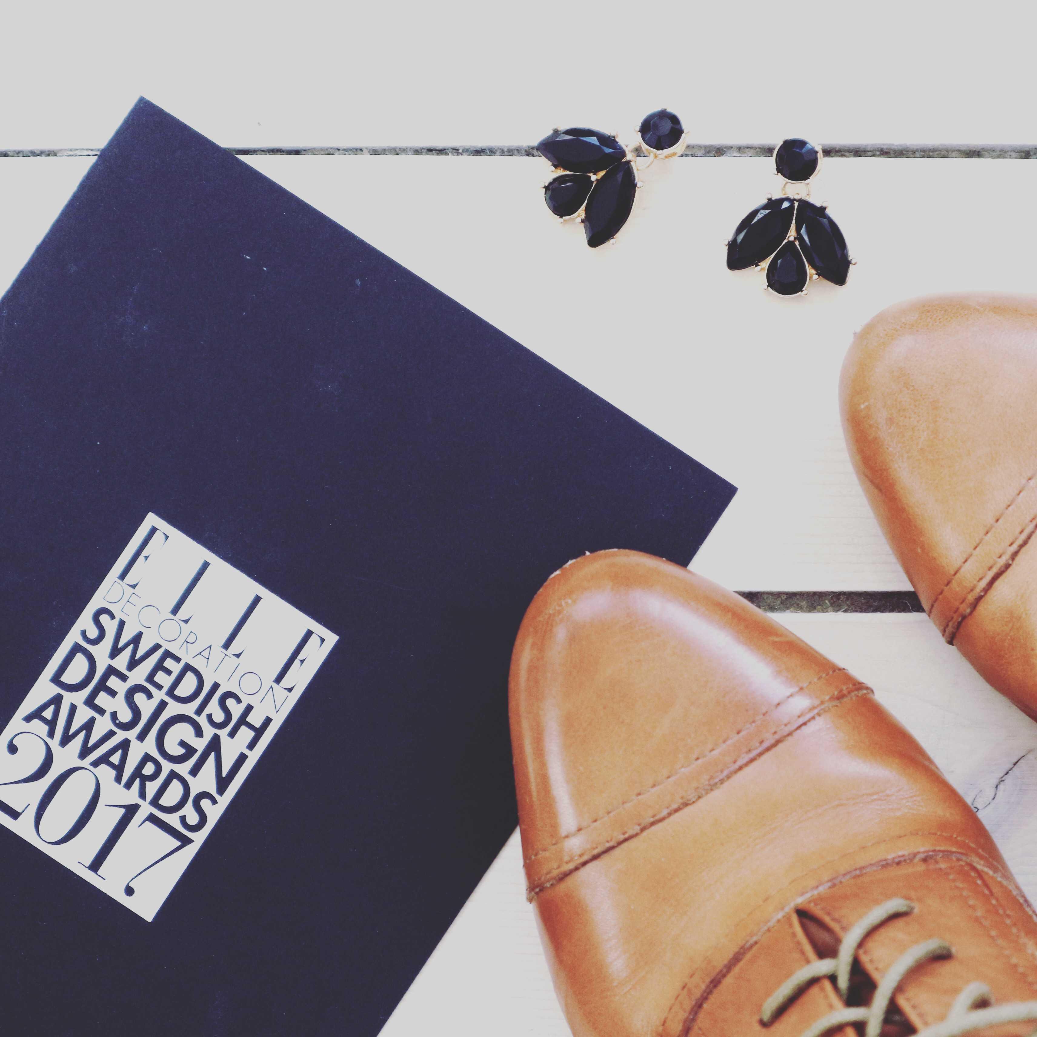 Elle decoration swedish design awards 2017.