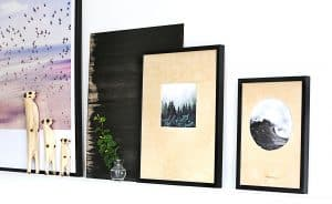 Tavlor av plywood, av Monica Karlstein, Hemmafixbloggen.se