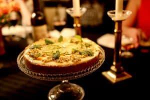 Frozen passionsfrukt cheesecake, recept på Hemmafixbloggen.se