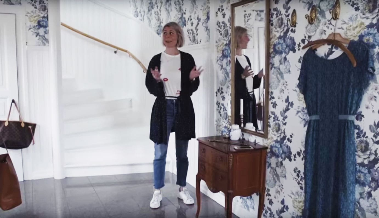 Hemma hos Krickelin, inredningsbloggaren Kristin Lagerqvist.