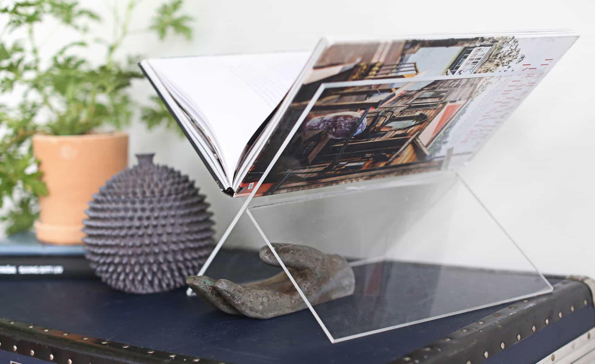Fantastisk DIY: Så gör du ett bokställ av plexiglas – Hemmafixbloggen DA-55