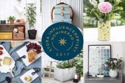 Finalist i Stora Influencerpriset 2017, kategorierna Årets influencer och Årets innovatör.