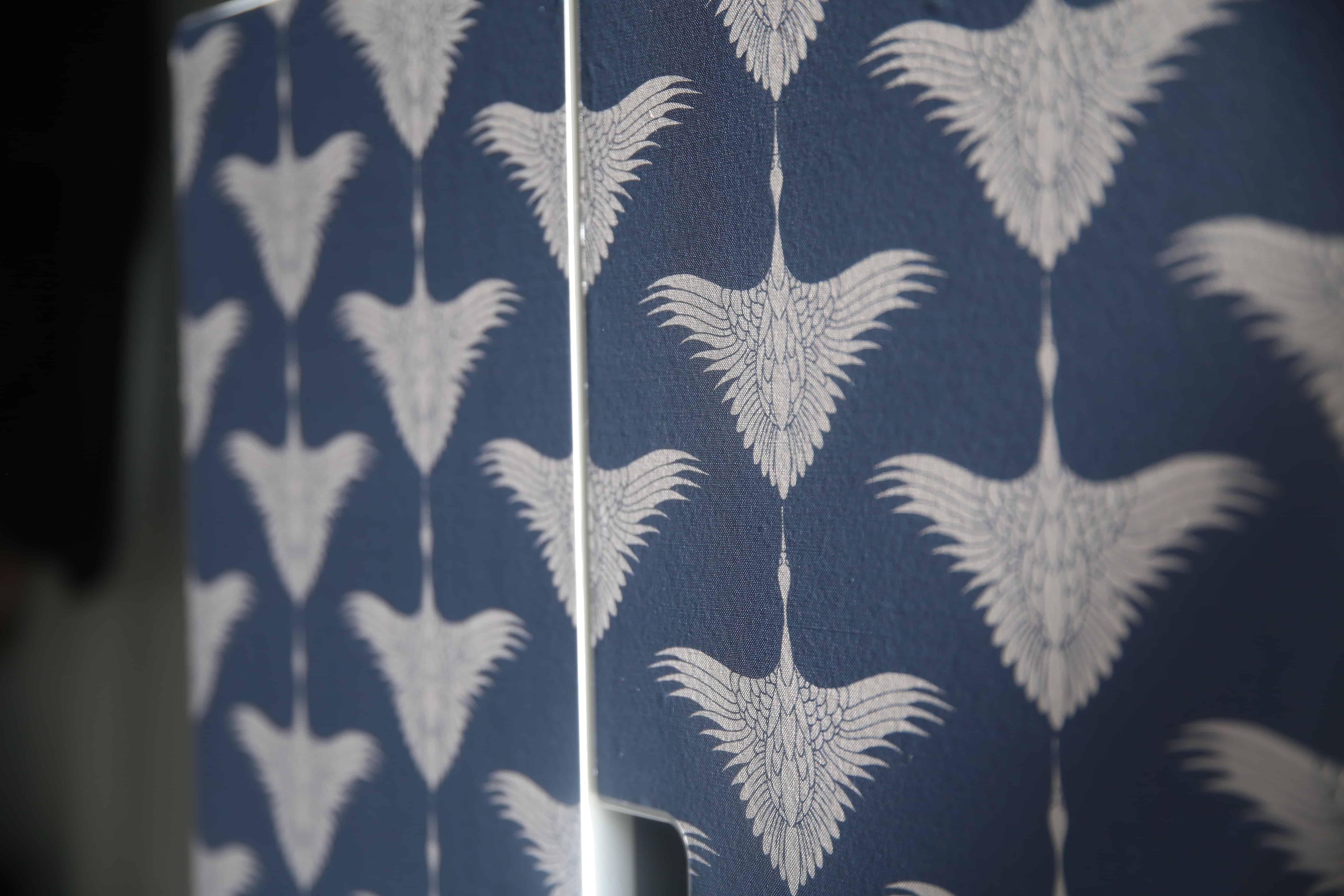 Ikea hack: Skåpet Stuva kläs med självhäftande textil