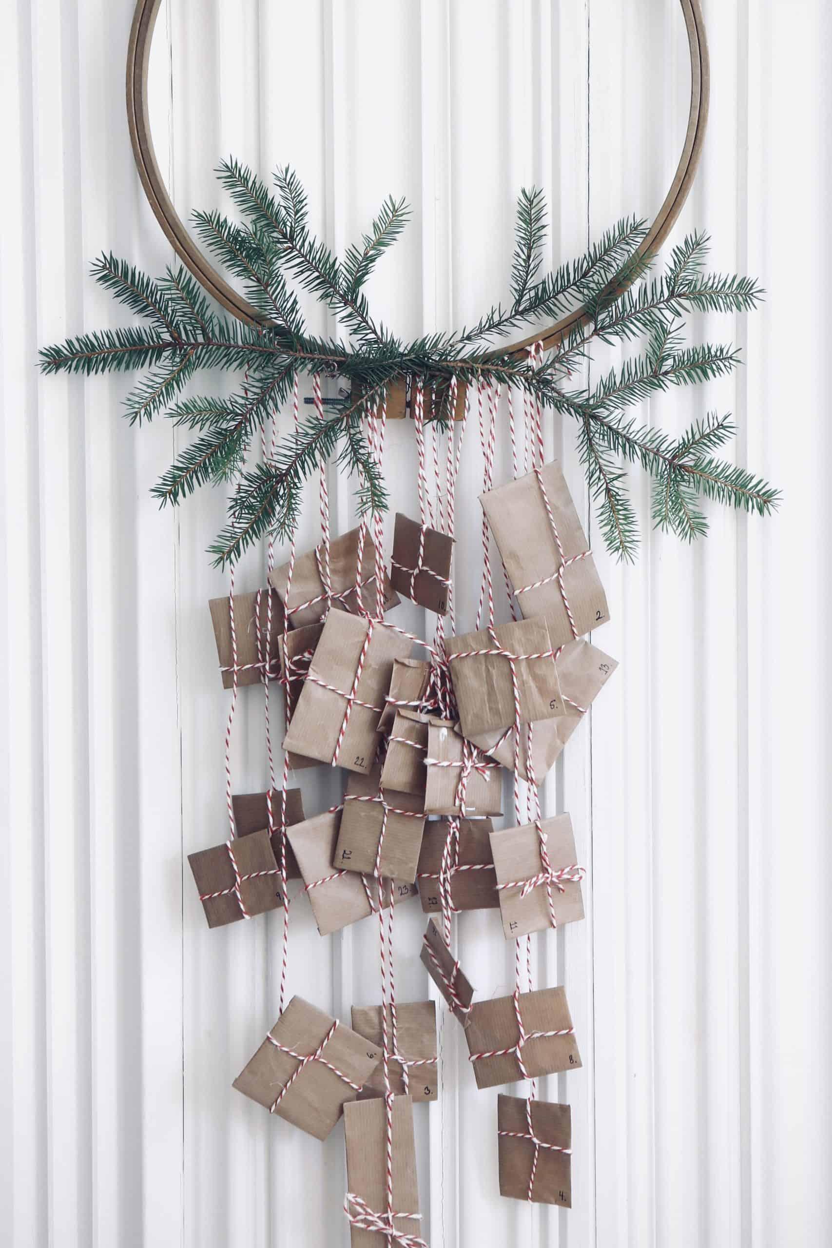 Visa uppskattning med en egen adventskalender – visa barnen vad som är viktigt förutom julklappar