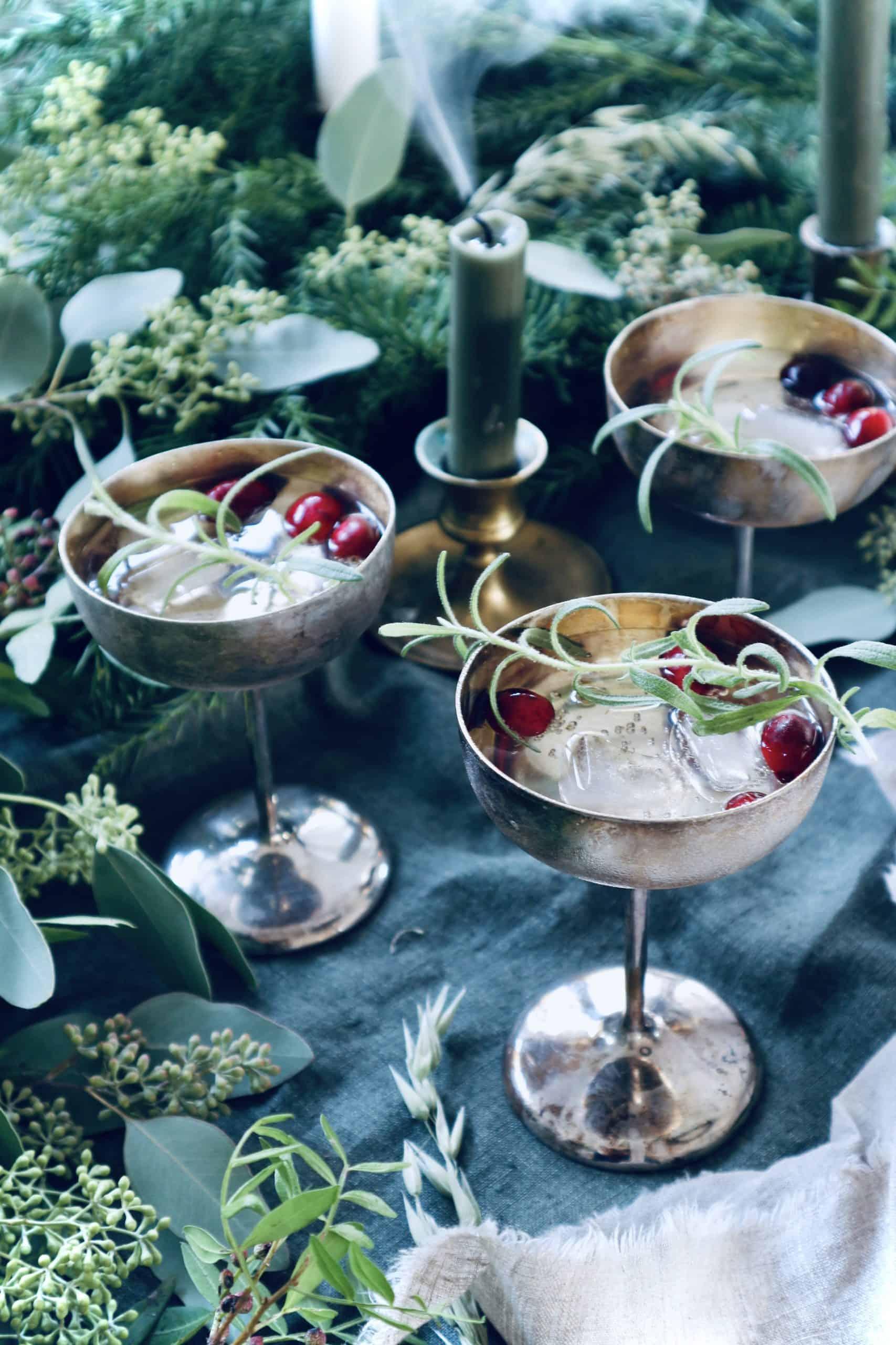 Recept: Två juliga alkoholfria drinkar som skänker feststämning