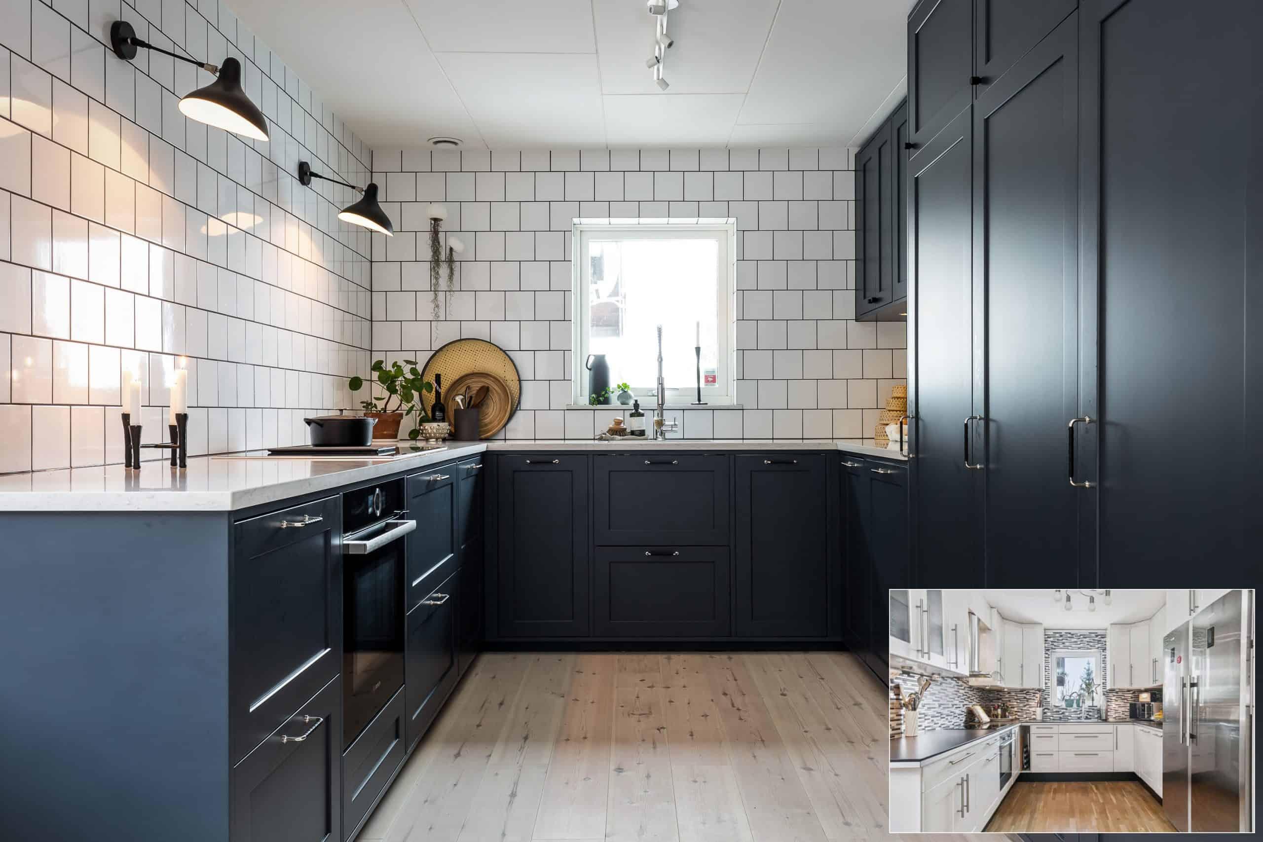 Allt om kök: 4 klara köksrenoveringar, 4 stilar, 4 hem – för