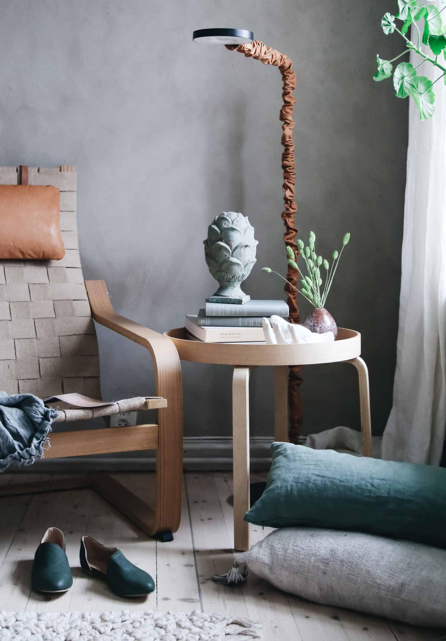 Ikea hack: Pallen Frosta + brickan Stockholm 2017 = Nytt soffbord